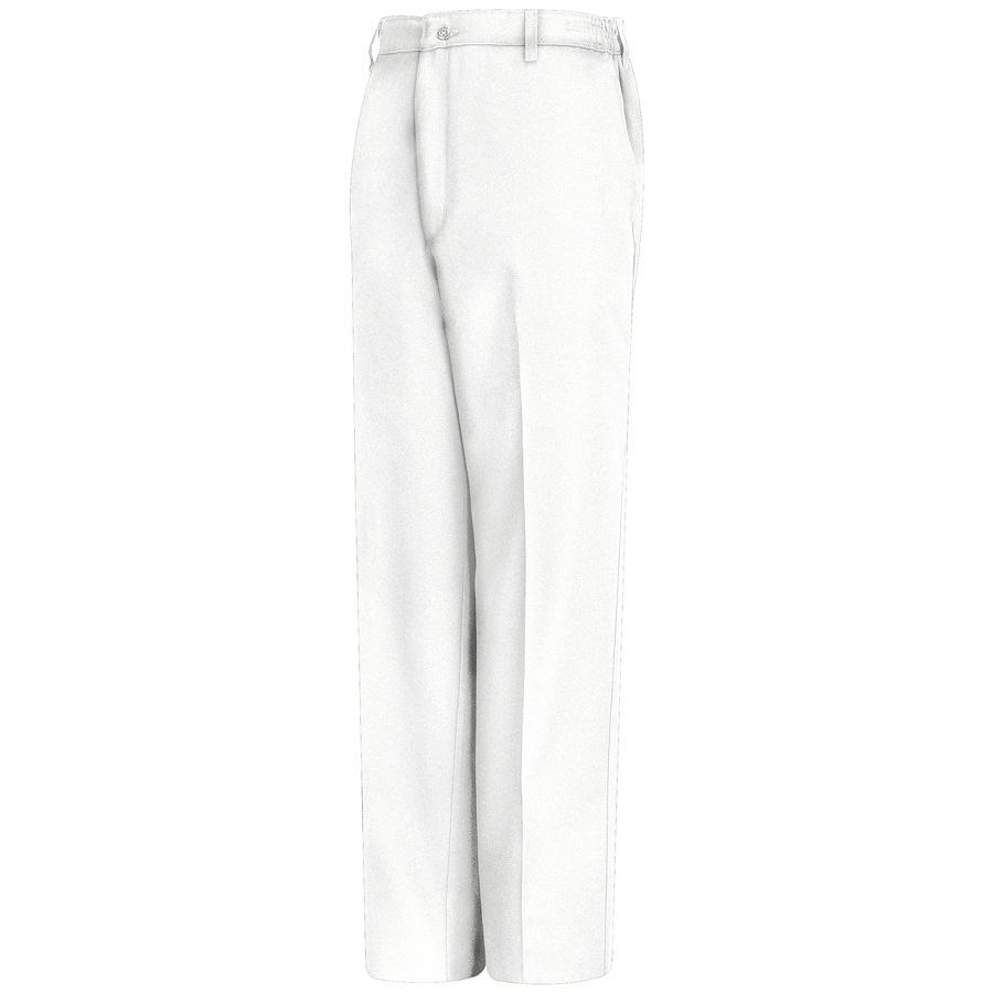 Red Kap Men's 40 x 32 White Twill Work Pants