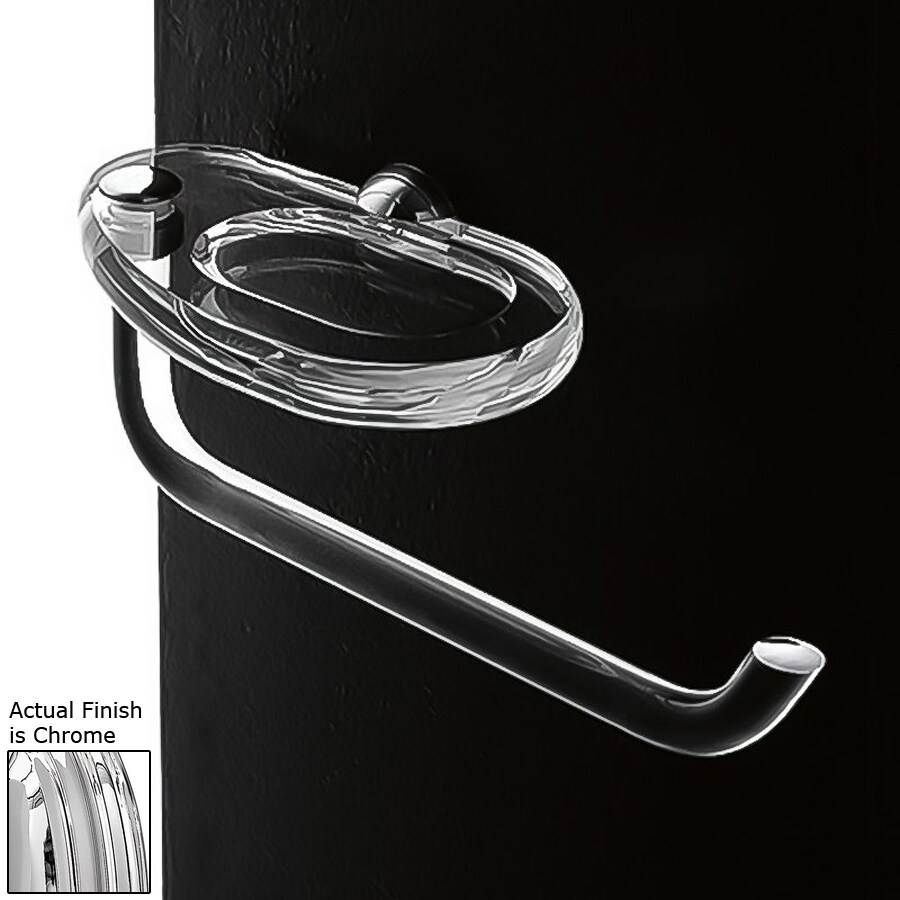 Nameeks Orchidea Chrome Single Towel Bar (Common: 9-in; Actual: 9.4-in)