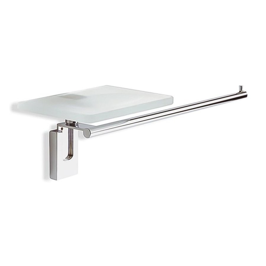 Nameeks Quid Chrome Single Towel Bar (Common: 16-in; Actual: 15.7-in)