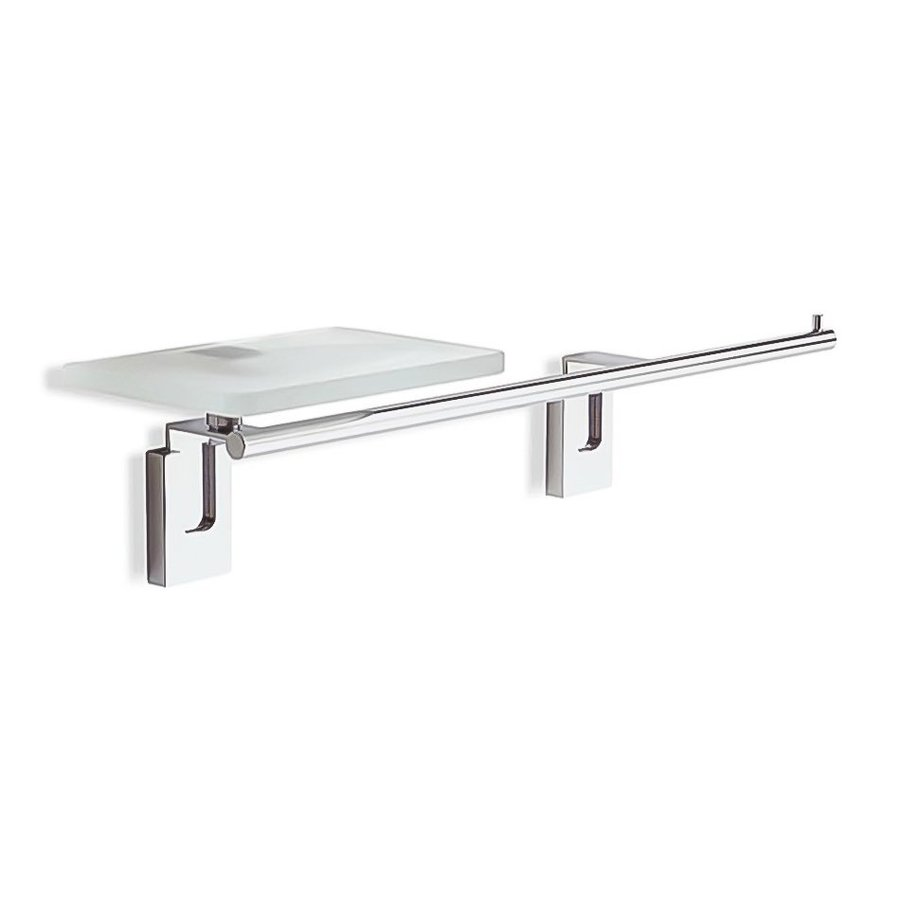 Nameeks Quid Chrome Single Towel Bar (Common: 18-in; Actual: 17.7-in)