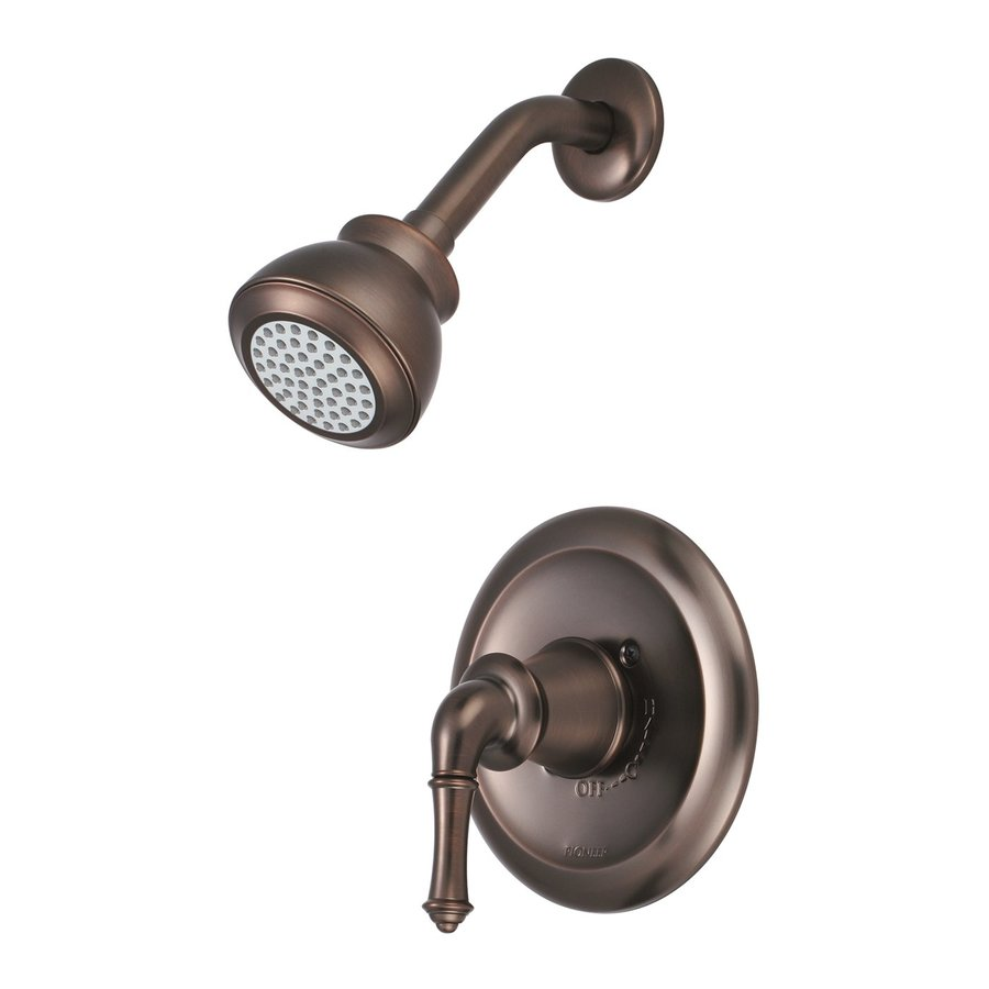 Pioneer Industries Del Mar Oil-Rubbed Bronze 1-Handle Shower Faucet