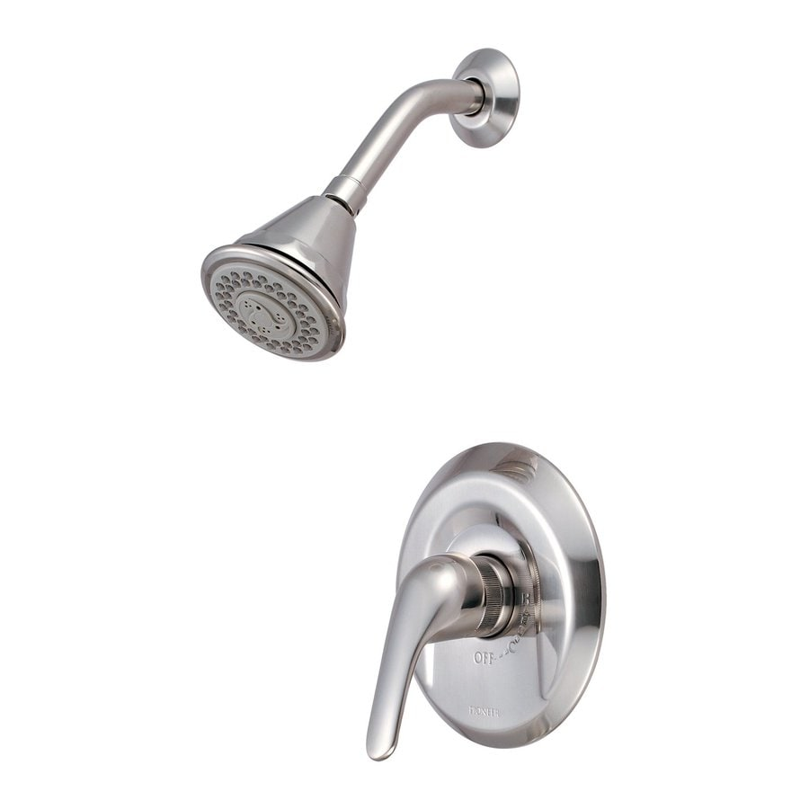 Pioneer Industries Legacy Brushed Nickel 1-Handle Shower Faucet