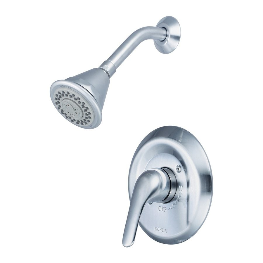 Pioneer Industries Legacy 1.75-GPM (6.6-LPM) Stainless Steel 4-Spray WaterSense Showerhead