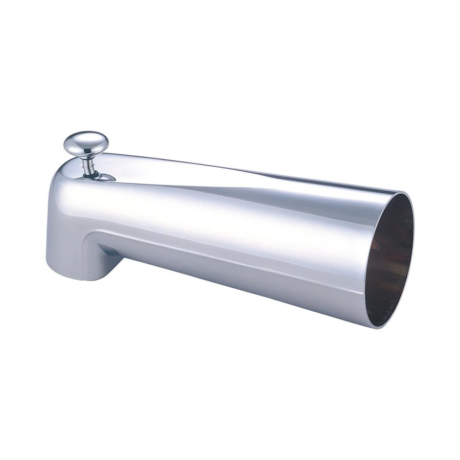 Pioneer Industries Polished Chrome Bathtub Spout with Diverter
