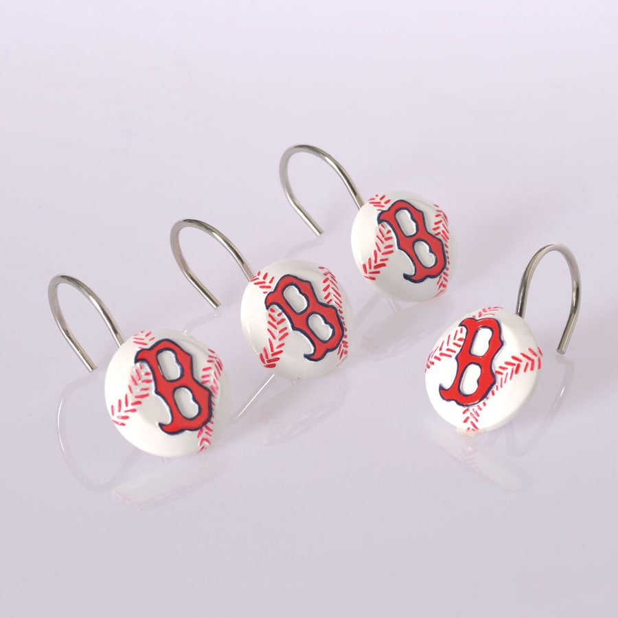 Shop Belle View 12Pack Boston Red Sox Single Shower Hooks at
