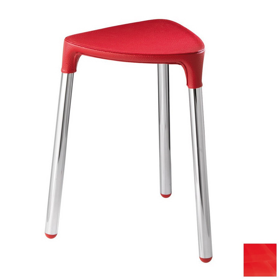 Nameeks Red Plastic Freestanding Shower Chair