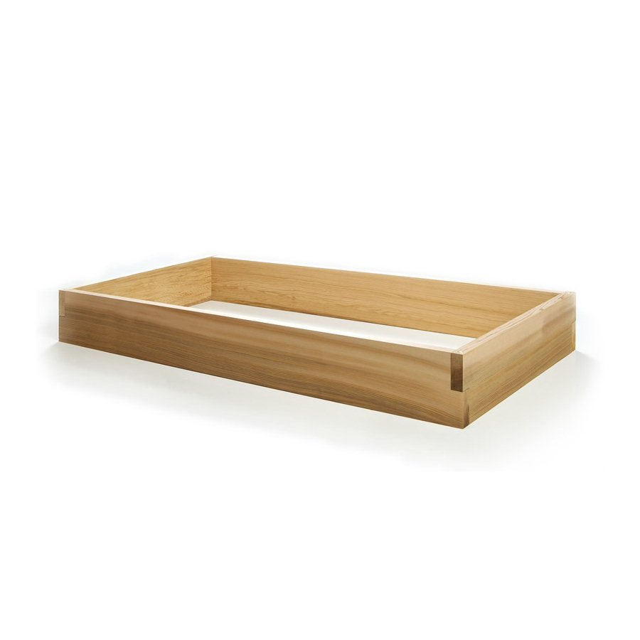 All Things Cedar 24-in W x 48-in L x 5.5-in H Unfinished Cedar Raised Garden Bed