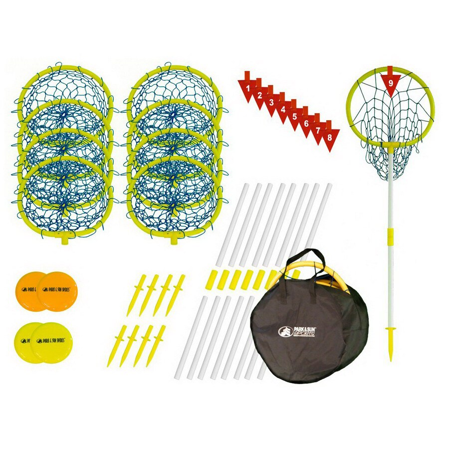 Park & Sun Sports Hoop Outdoor Flying Disc Party Game with Case