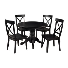 Delicieux Home Styles 5 Piece Dining Set With Round Dining Table