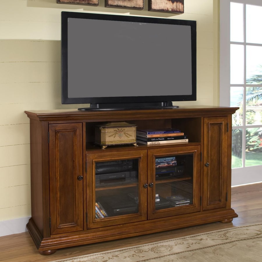 Home Styles Homestead Warm Oak Rectangular Television Cabinet