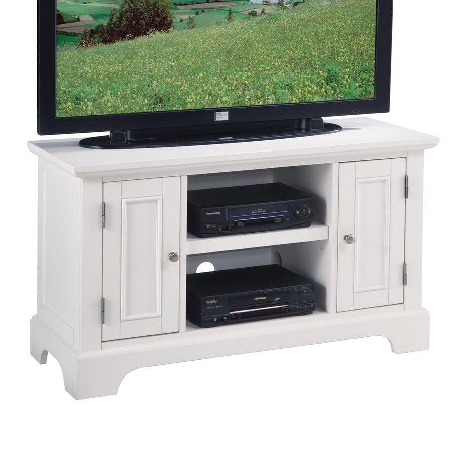 Home Styles Naples Creamy White TV Cabinet
