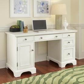 Home Styles Naples Transitional Computer Desk