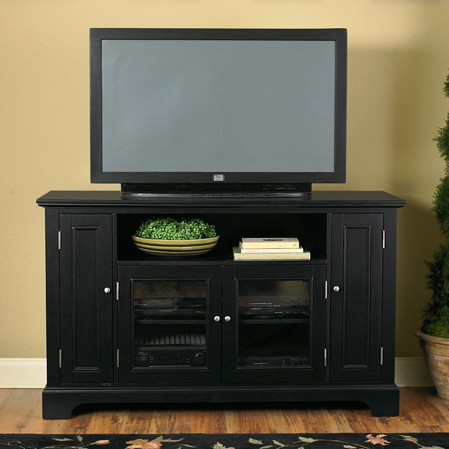 Home Styles Bedford Ebony Rectangular TV Cabinet