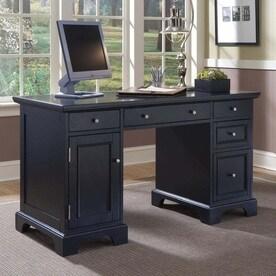 home styles bedford black computer desk