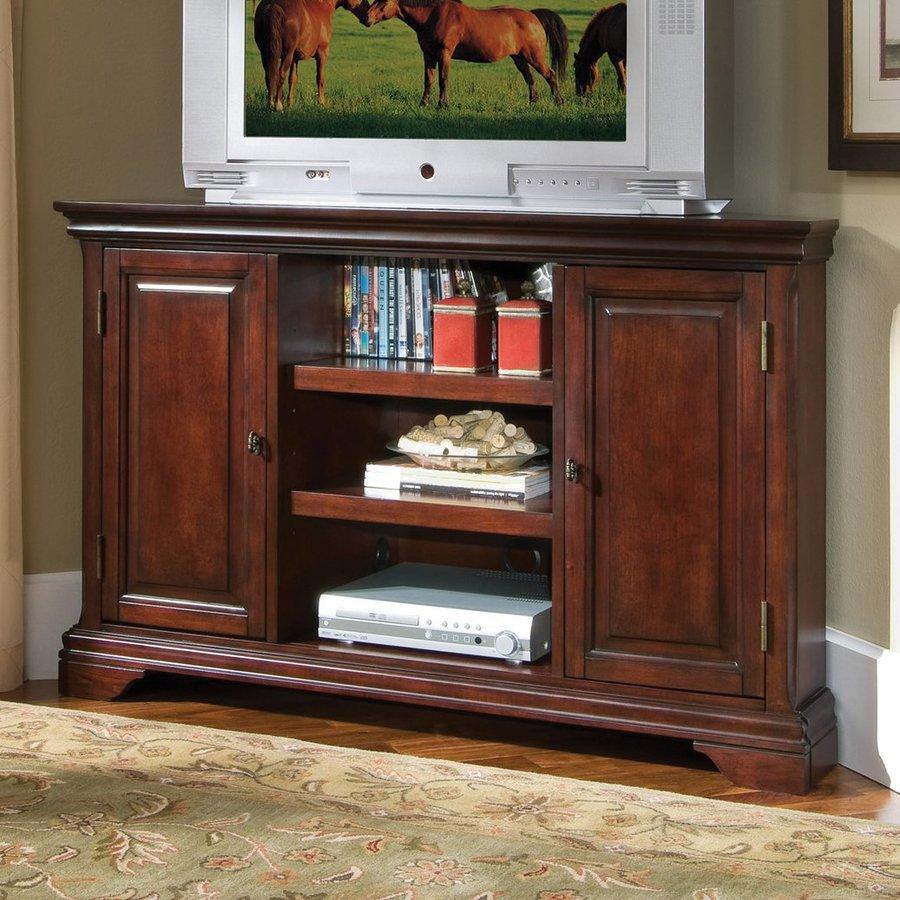 Home Styles Lafayette Cherry Corner Corner Television Stand