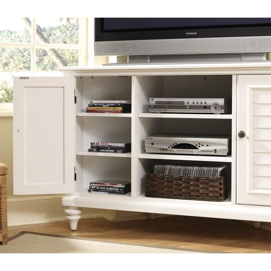 Home Styles Bermuda White TV Cabinet
