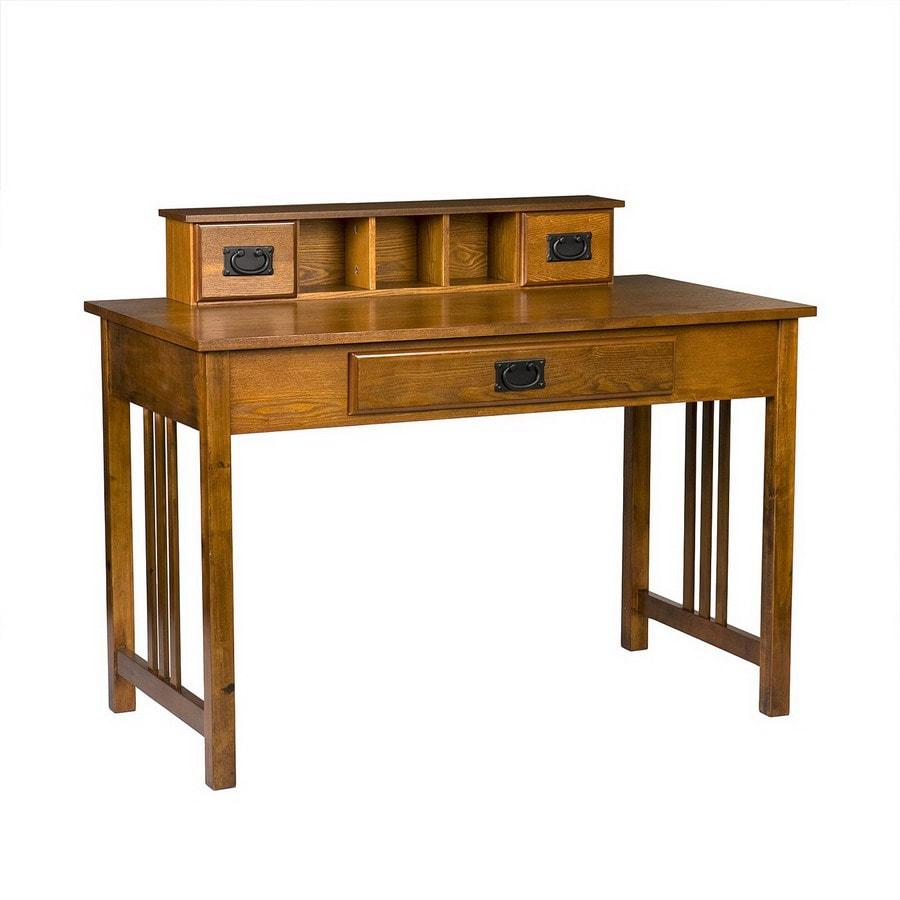 Boston Loft Furnishings Francisco Transitional Mission Oak Writing Desk