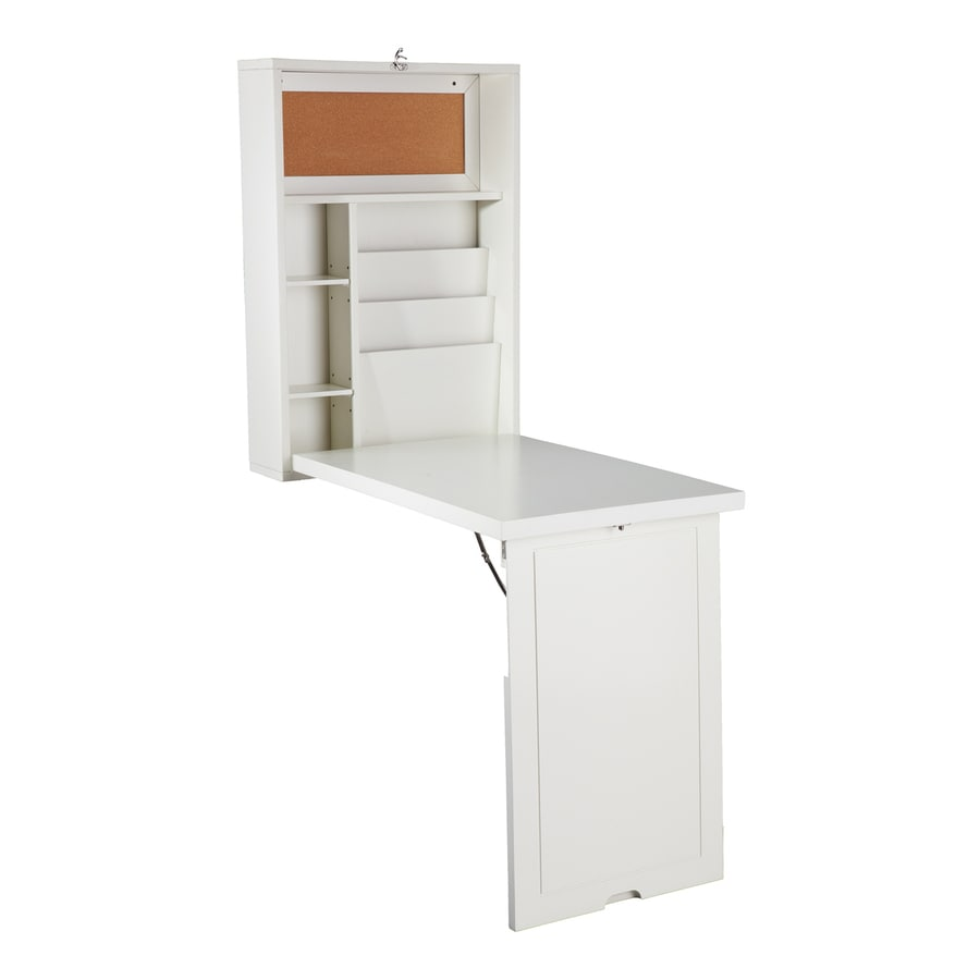 Boston Loft Furnishings White Fold-Out Desk