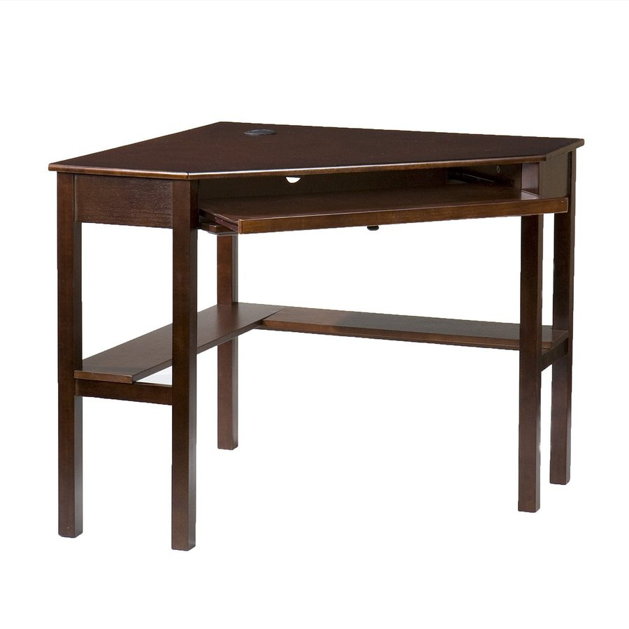 Boston Loft Furnishings Alcott Espresso Corner Desk