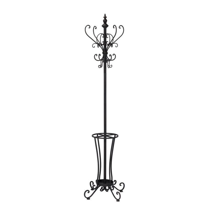 Boston Loft Furnishings Black 16-Hook Coat Stand