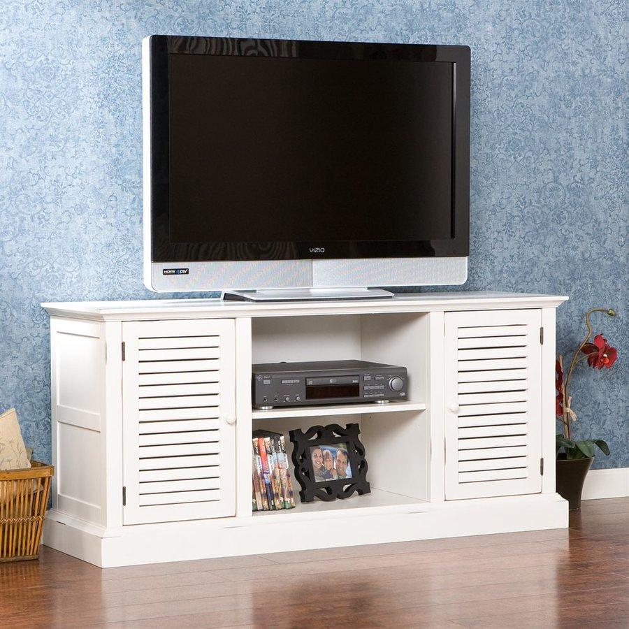 Boston Loft Furnishings Antebellum Antique White Rectangular TV Cabinet