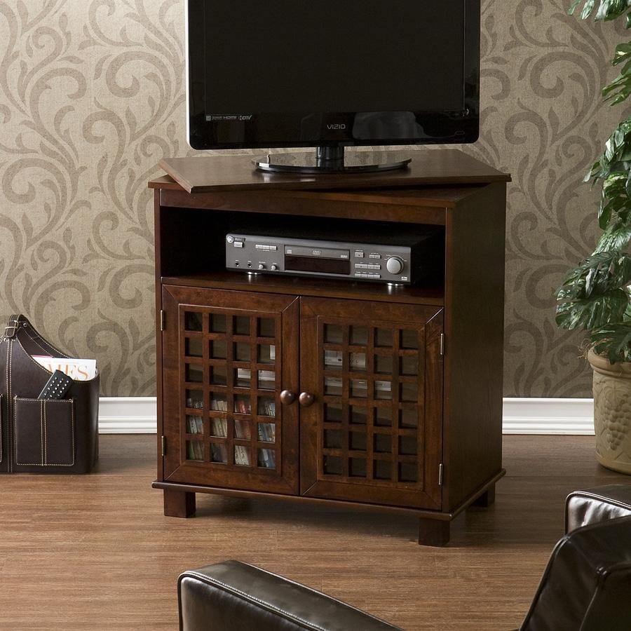Boston Loft Furnishings Valhalla Espresso Rectangular Television Cabinet