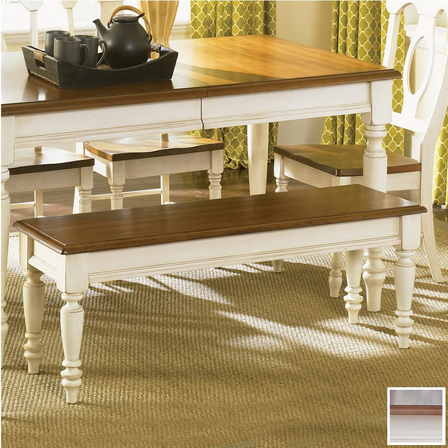 Liberty Furniture Low Country Linen Sand Suntan Bronze 48 In Dining Bench