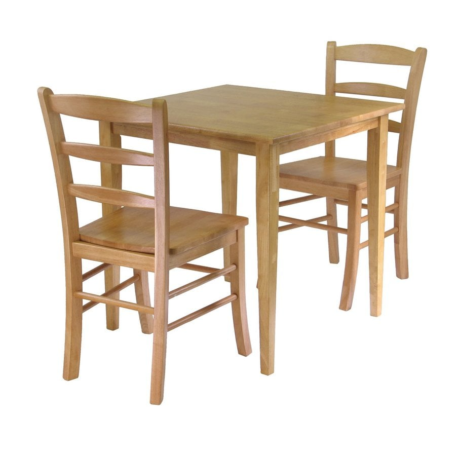 shop winsome wood groveland light oak dining set with