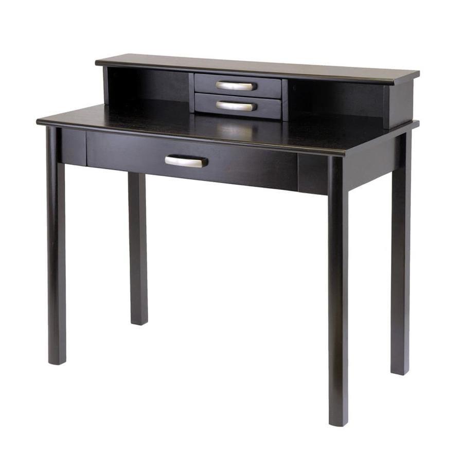 Winsome Wood Liso Transitional Dark Espresso Computer Desk