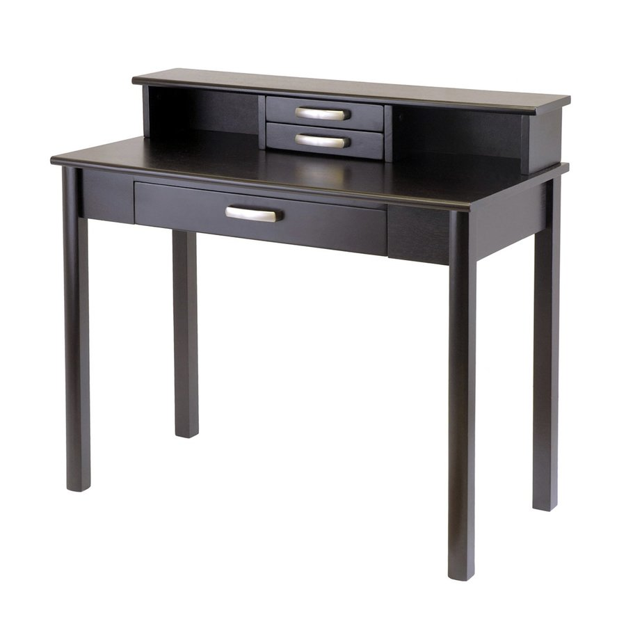 Winsome Wood Liso Dark Espresso Writing Desk
