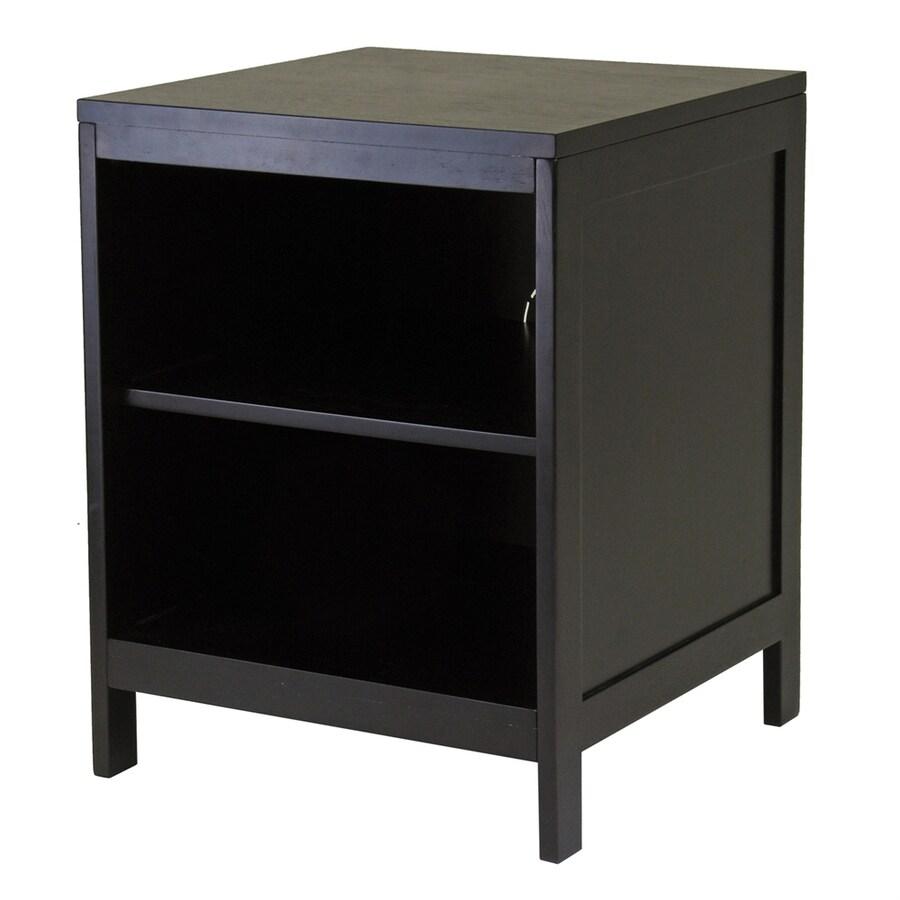 Winsome Wood Hailey Dark Espresso Square Television Cabinet