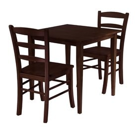 winsome wood groveland dining set with square dining table