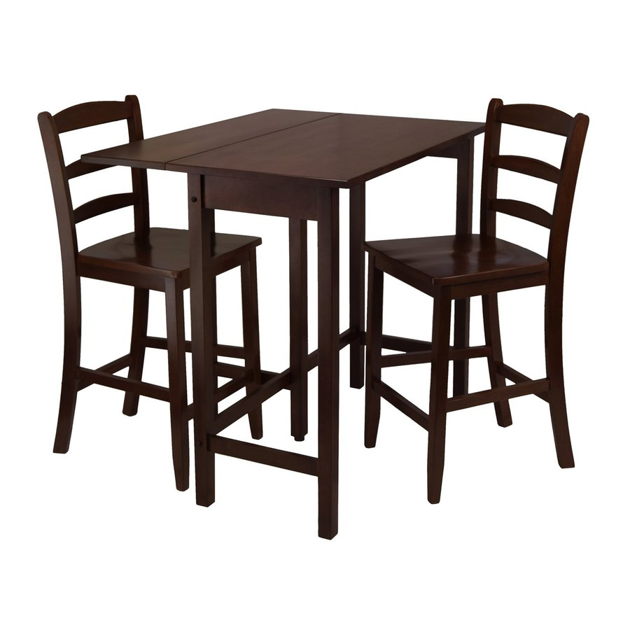 Winsome Wood Lynnwood Antique Walnut Dining Set