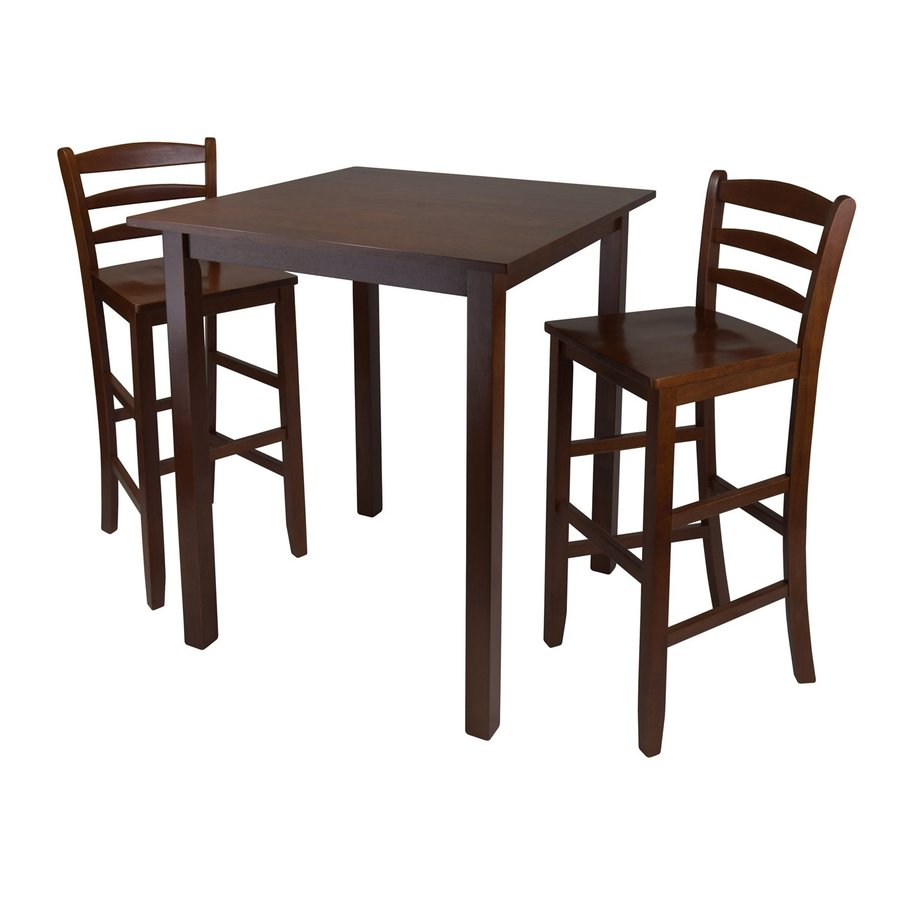Winsome Wood Parkland Antique Walnut Dining Set