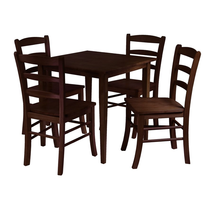Winsome Wood Groveland Antique Walnut Dining Set with Dining Table