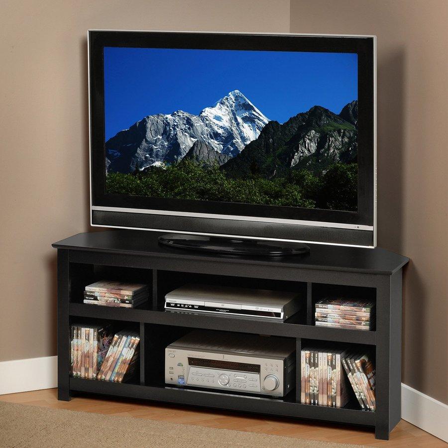 Prepac Furniture Vasari Black TV Stand