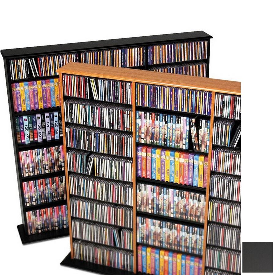 Prepac Furniture Black Composite Freestanding Media Cabinet