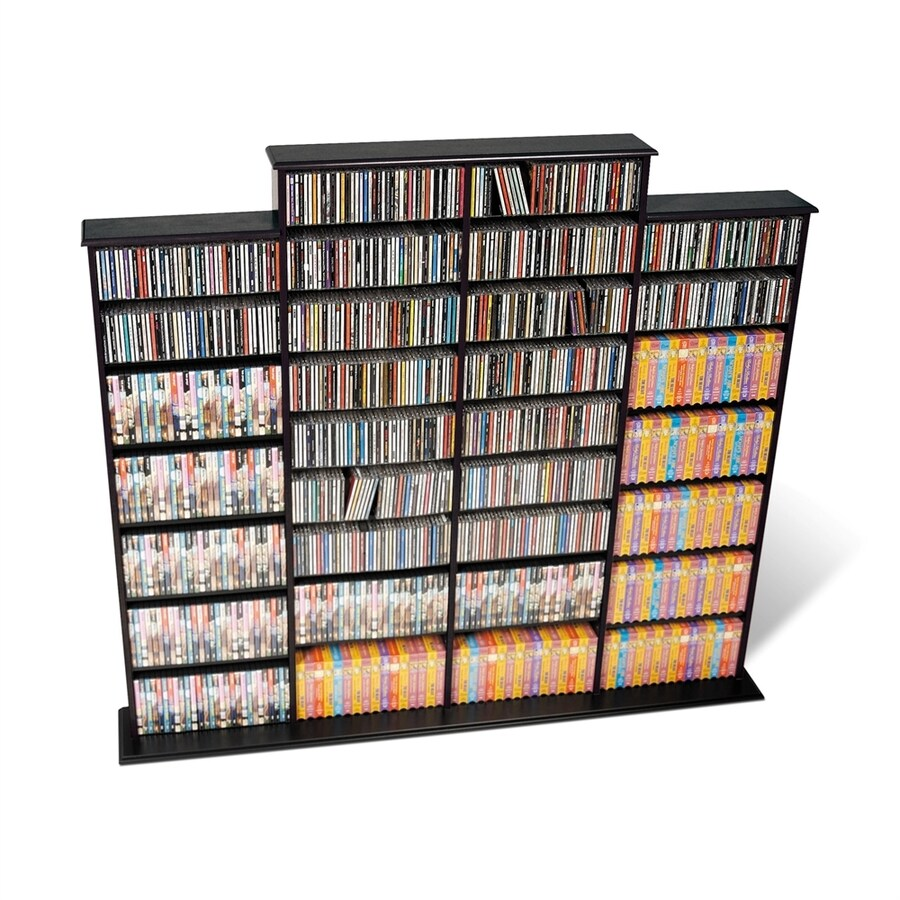 Prepac Furniture Black Multimedia Storage Unit