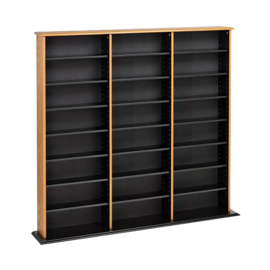 Prepac Furniture Oak Composite Freestanding Media Cabinet