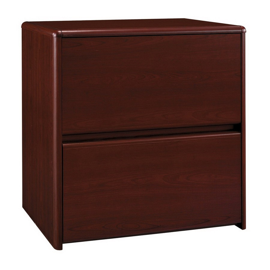 Bush Furniture Northfield Harvest Cherry 2-Drawer File Cabinet