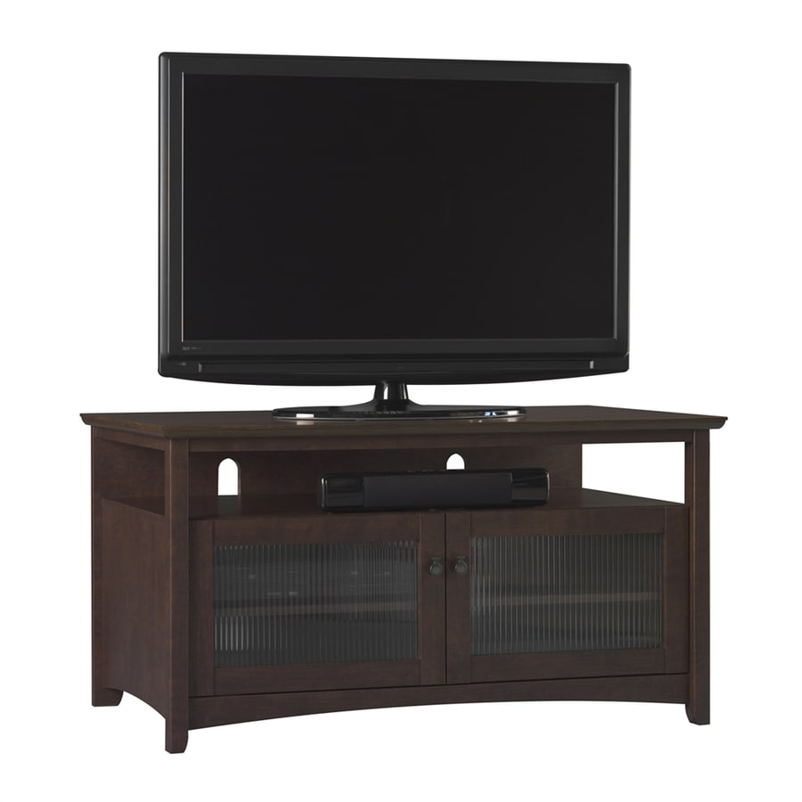 Bush Furniture Buena Vista Madison Cherry Rectangular TV Cabinet