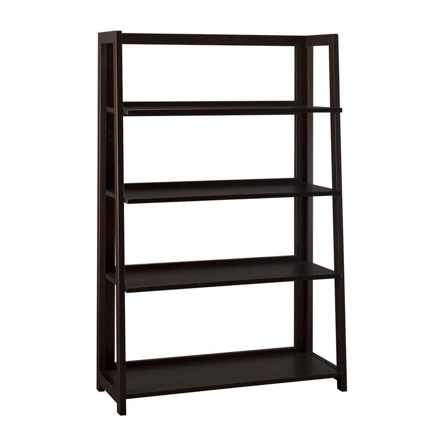 Urban Ladder Kitchen Shelf: Shop Bush Furniture Urban And Main Macchiata 47-1/8-in 4