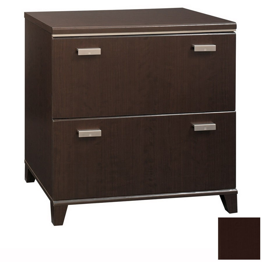 Bush Furniture Tuxedo Mocha Cherry 2-Drawer File Cabinet