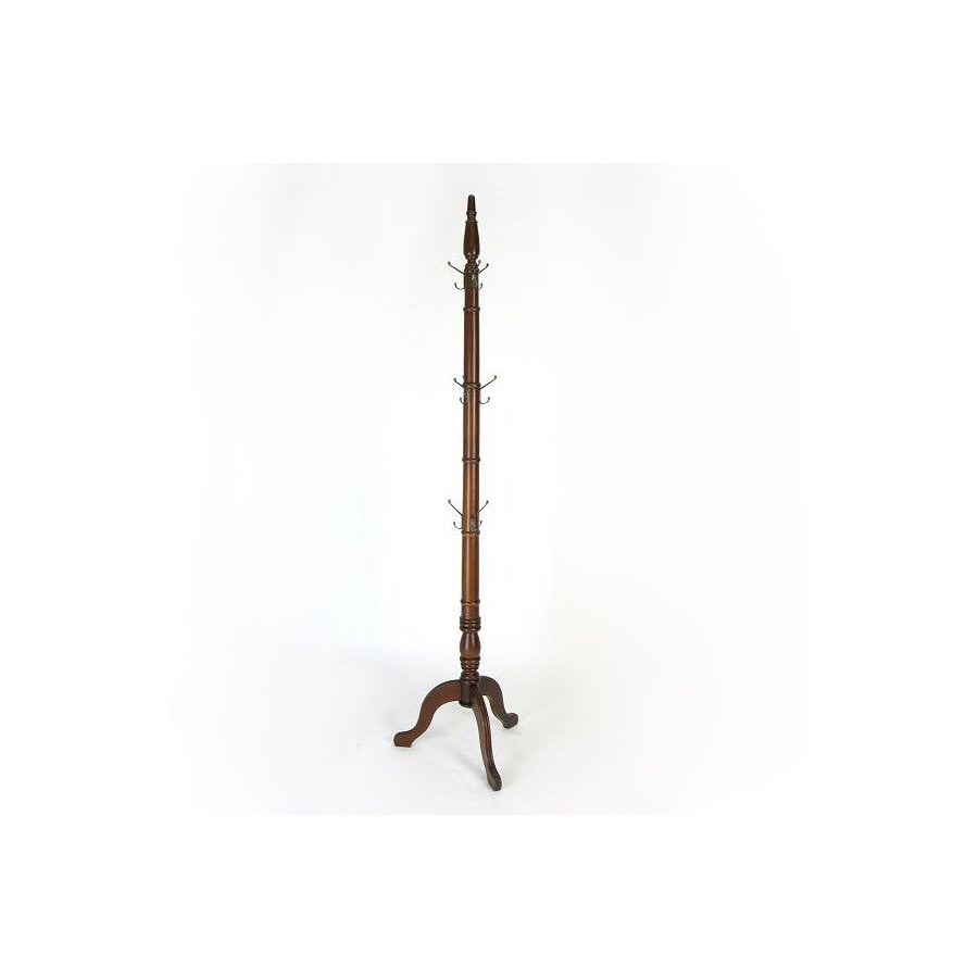 Wayborn Furniture Honey Brown 9-Hook Coat Stand