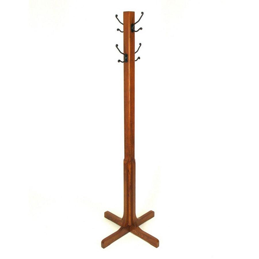 shop wayborn furniture brown 4 hook coat stand at. Black Bedroom Furniture Sets. Home Design Ideas