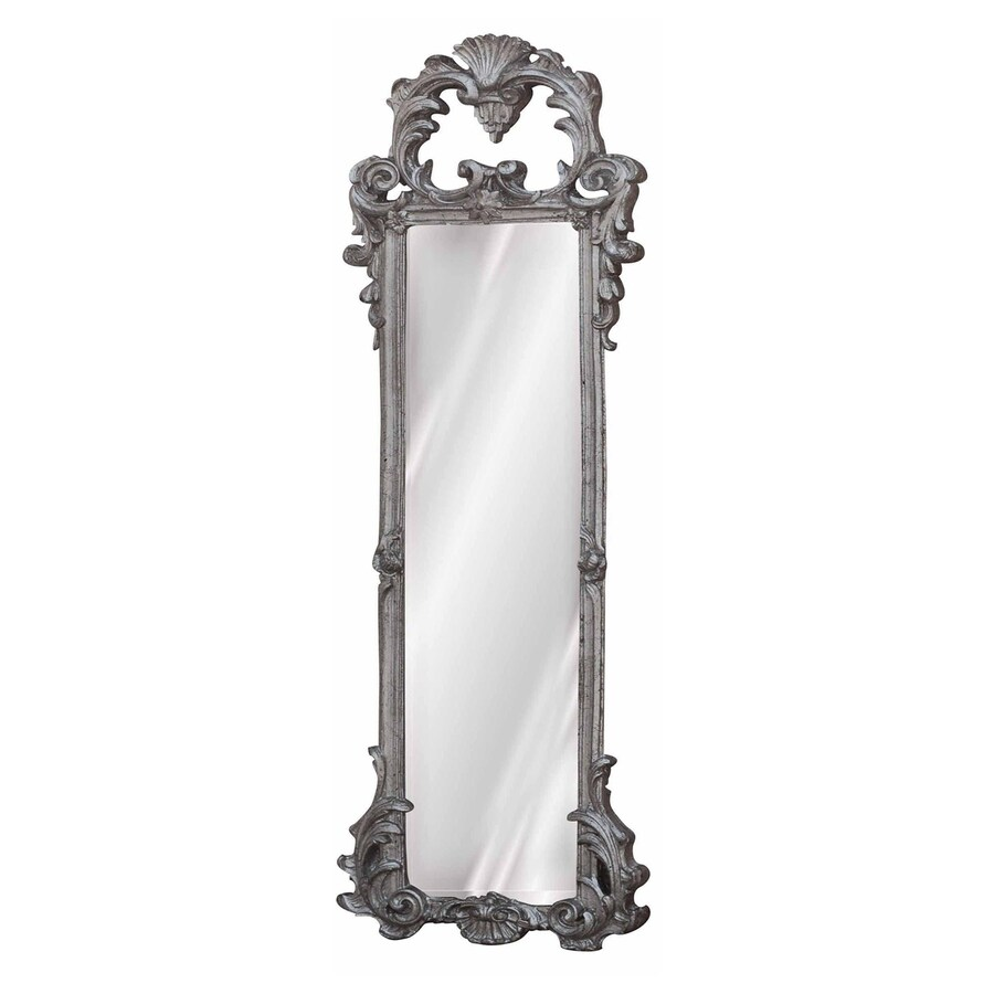 Hickory Manor House Ornate Strip Shimmer Polished Wall Mirror