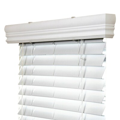 Ipg 2 In White Vinyl Mini Blinds Common 71 In Actual 70 75 In X 36 In At Lowes Com