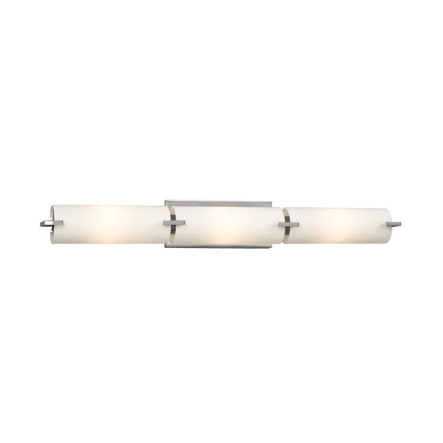 Galaxy Kona 3-Light 4.25-in Chrome Cylinder Vanity Light Bar