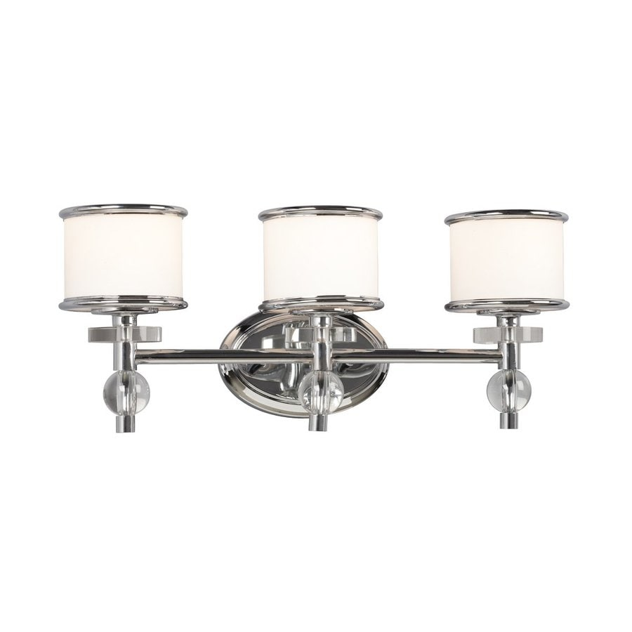 Galaxy Hilton 3 Light 9 18 In Chrome Drum Vanity Light