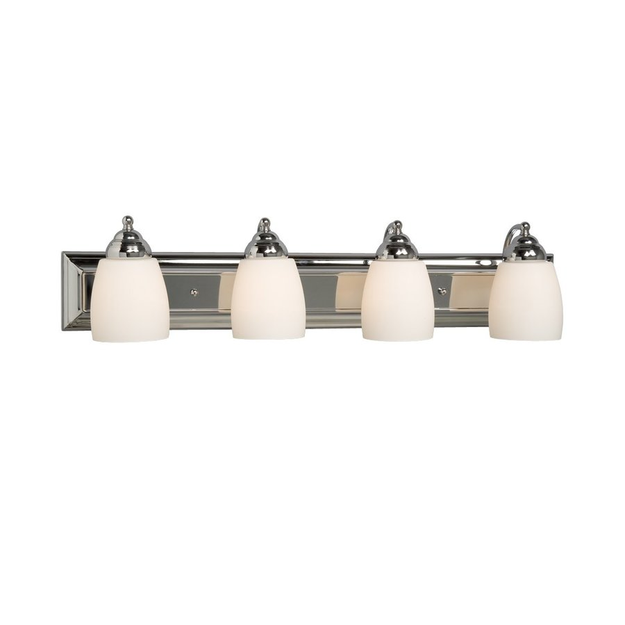 Galaxy 4-Light Barclay Chrome Standard Bathroom Vanity Light